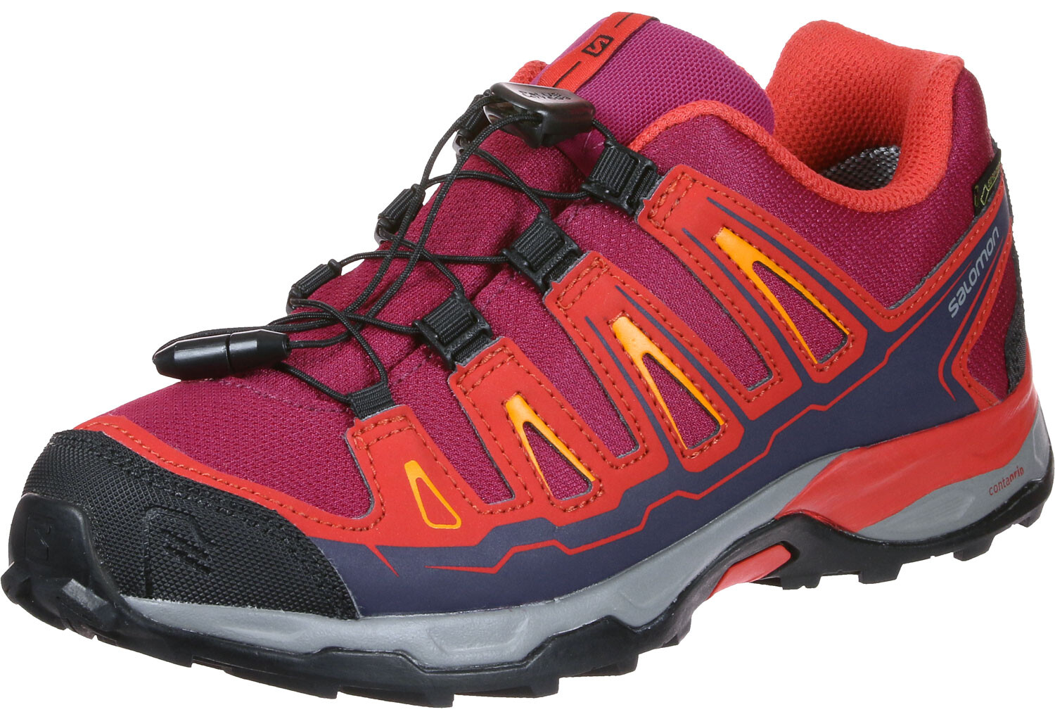 Salomon X-Ultra GTX Shoes Kids red at